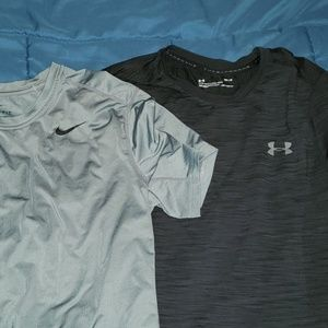 3 mens Athletic Dry fit shirts